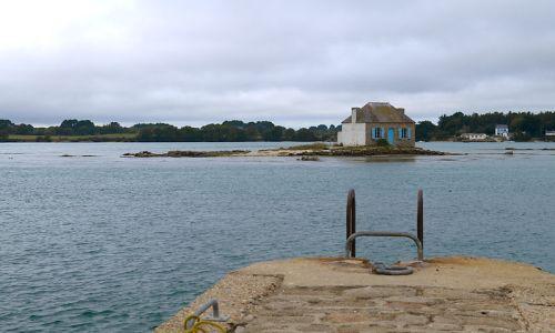Nous découvrons l'îlot Nichtarguer dans le Morbihan.