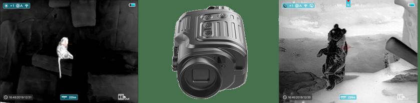 InfiRay - Finder FL25R - Monocular detector de rango térmico