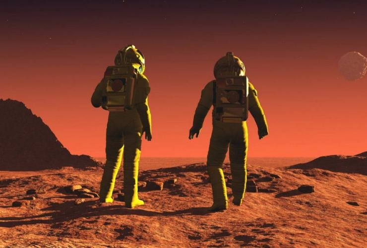 CHINA wants to send people to mars