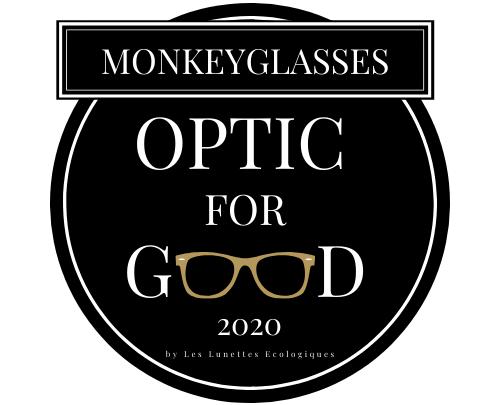 Logo Optic for good MonkeyGlasses 2020