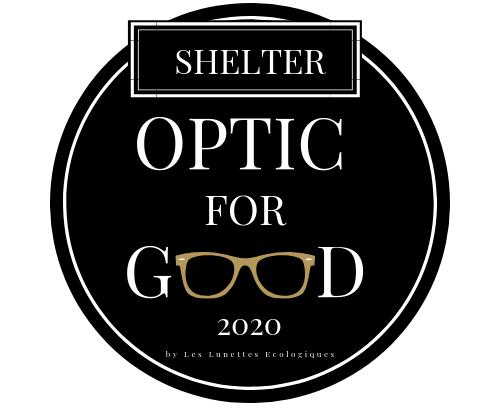 Logo Optic for good SHELTER 2020