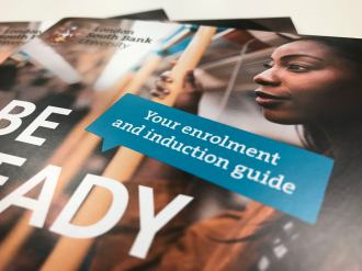 London South Bank University - Induction Guide - Deachy 2