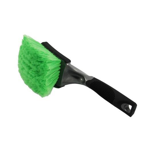 Green Ultra Soft Body & Wheel Brush