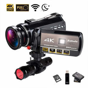 Ancter Actor-DV-005 4K WiFi Full Spectrum Camcorders