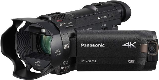 Panasonic HC-WXF991K 4K Camcorder