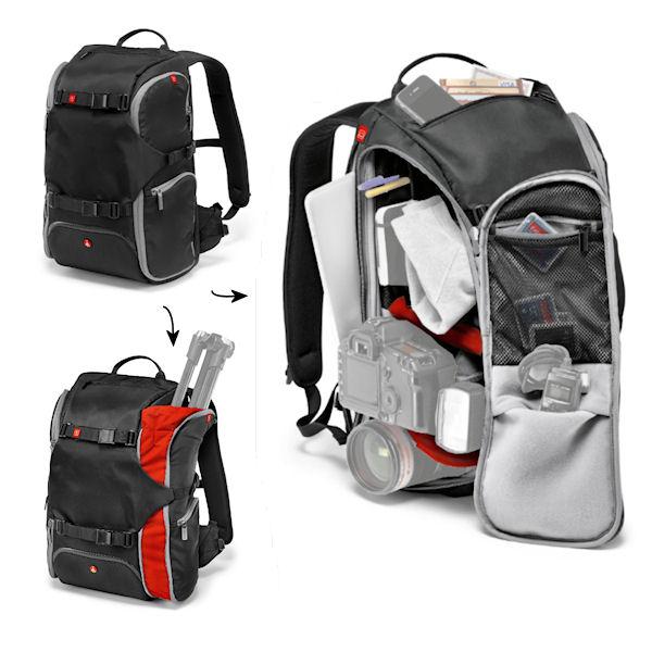 Manfrotto Advanced Travel Backpack - Optics4Birding