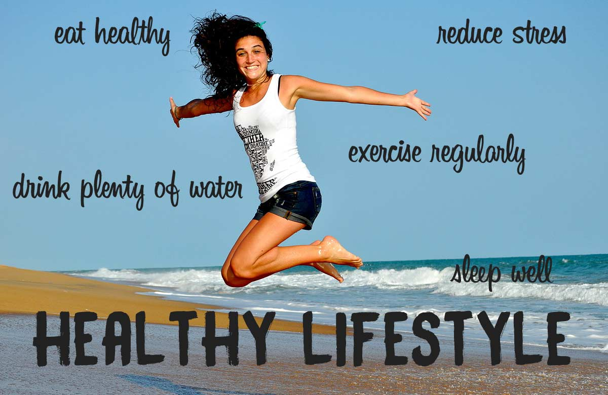 Live A Healthy Lifestyle Now Exercise Sleep Well Amp Eat