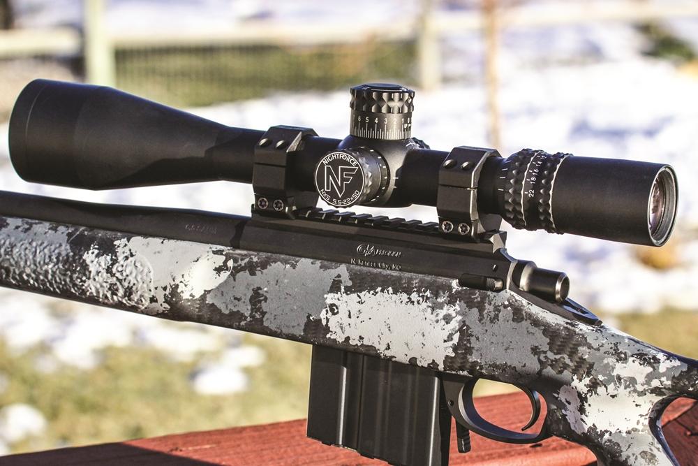 Čeprav je bil razvit za vojaško rabo, vam lahko NXS zvesto služi na vsaki puški za vsak namen (Foto: Nightforce)