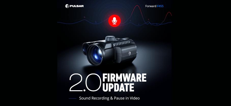 Posodobitev 2.0 za naprave Pulsar Forward F455/FN455