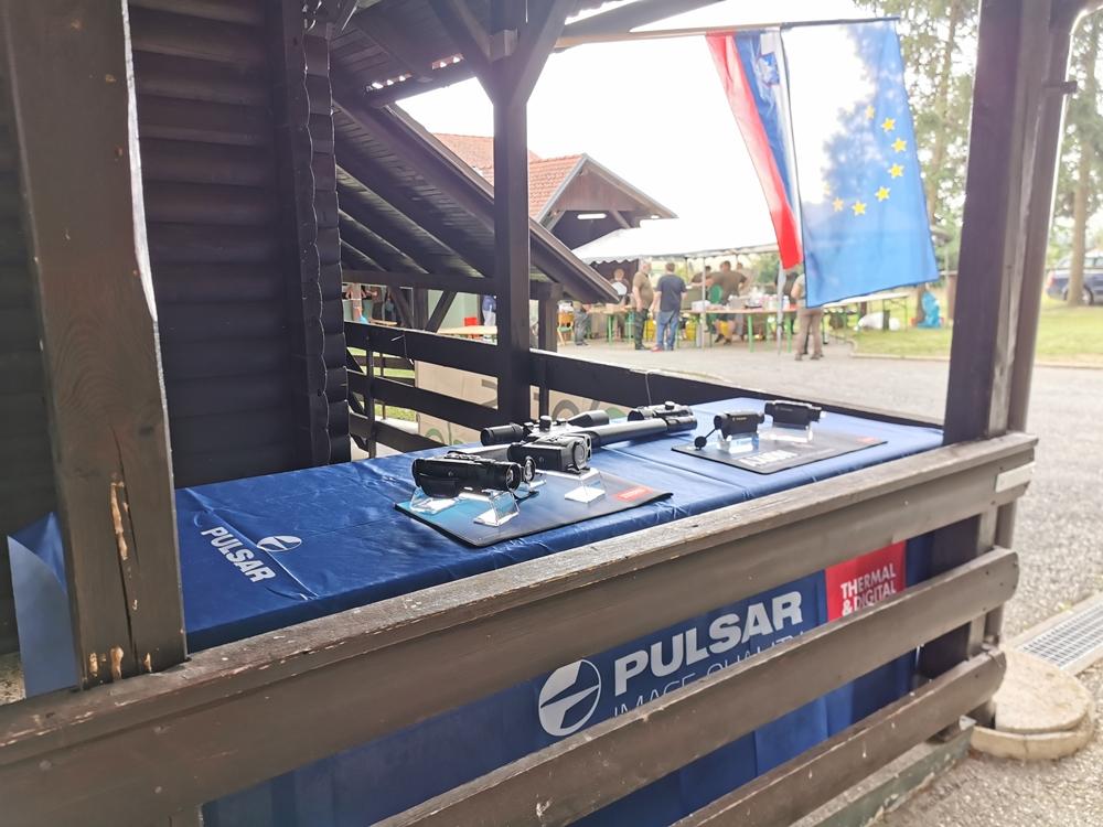 Predstavitev optike Pulsar na lovskem tekmovanju Prosenjakovci 2020