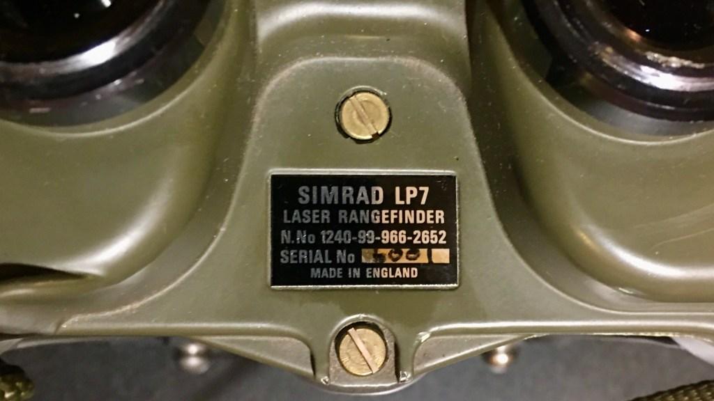 Simrad Optronics LP7 : prvi daljnogled s LRF funkcijo na civilnem trgu (vir: the RPF)