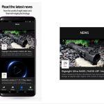 Mobilna aplikacija Pulsar Stream Vision 2 - Zadnje novice in novosti (vir slike: Pulsar)