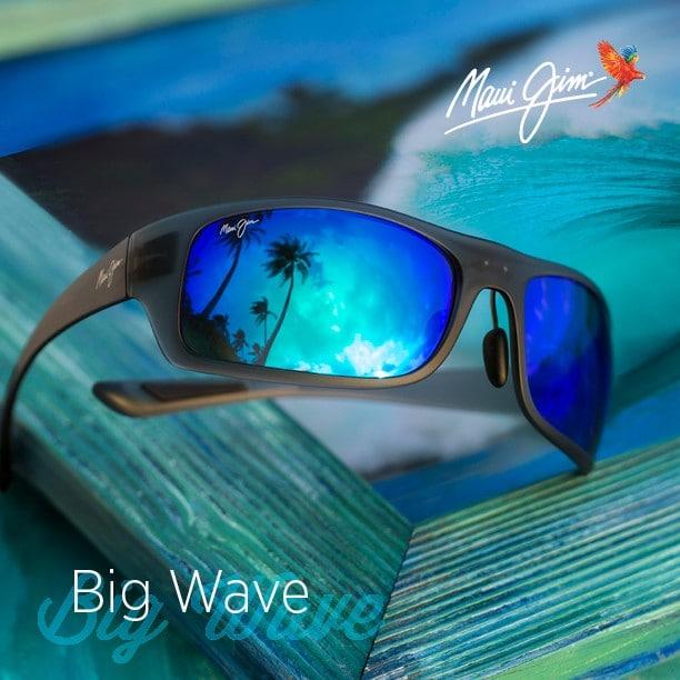 "Foto des Maui Jim Modells ""Big Wave"""