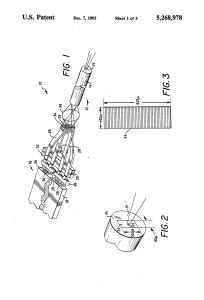 US 5268978 A – Optical fiber laser and geometric coupler