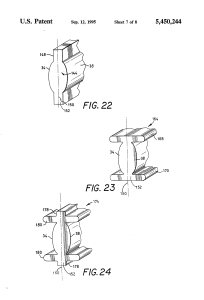 US 5450244 A – Cylindrical fiber coupling lens with biaspheric surfaces
