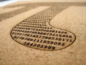 Pi (squared) trivet - 2