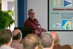 "Ari T. Friberg Presents ""Coherence in Modern Optics"" at Optikos"