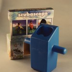 The Scubascope, a children's subsurface periscope for exploration invented by Optikos