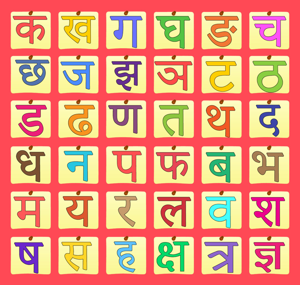 Easy Way To Learn Hindi Alphabet