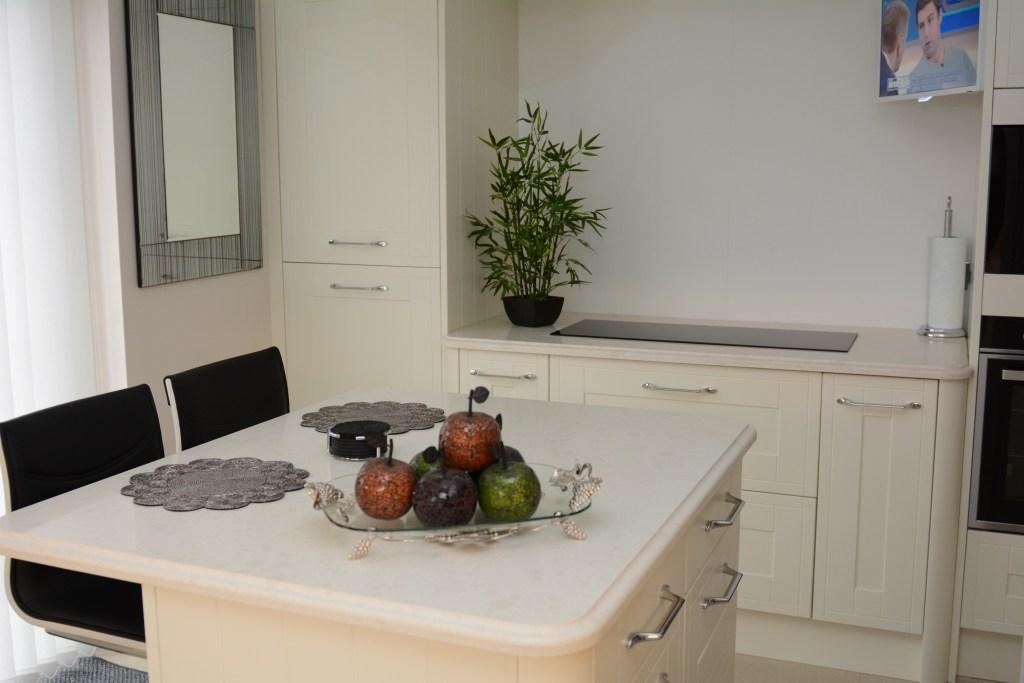 White Onyx Kitchen Worktops