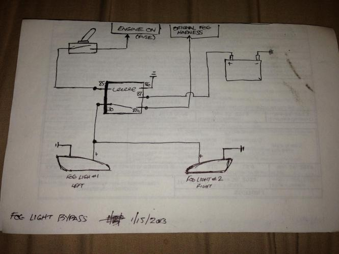 wiring diagram for front fog lights wiring diagram 2006 honda pilot aftermarket them so the fog lights e factory