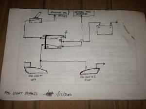Simple Wiring Diagram to Bypass Foglights (Works wo