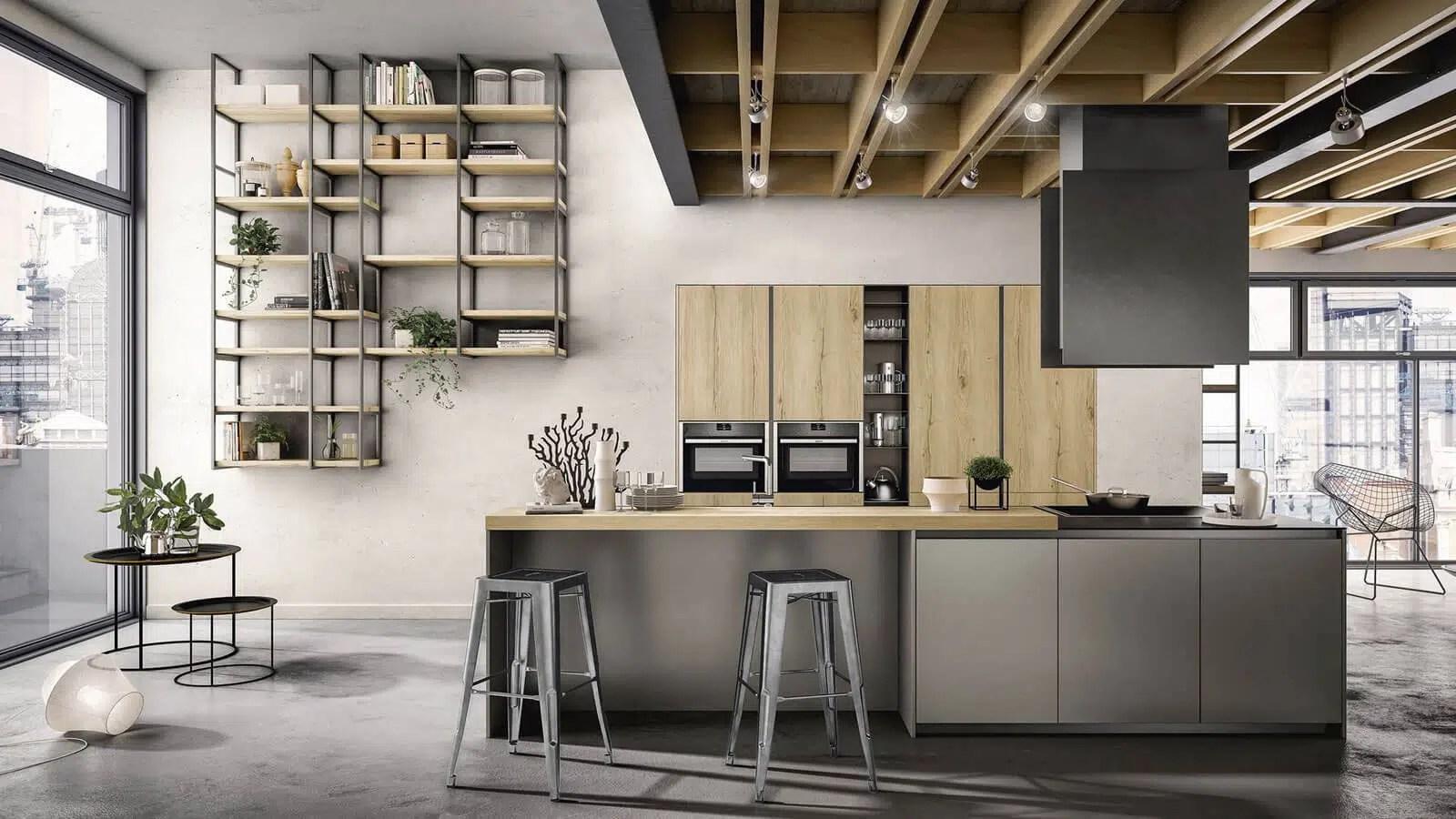 cuisine style industriel fabrication