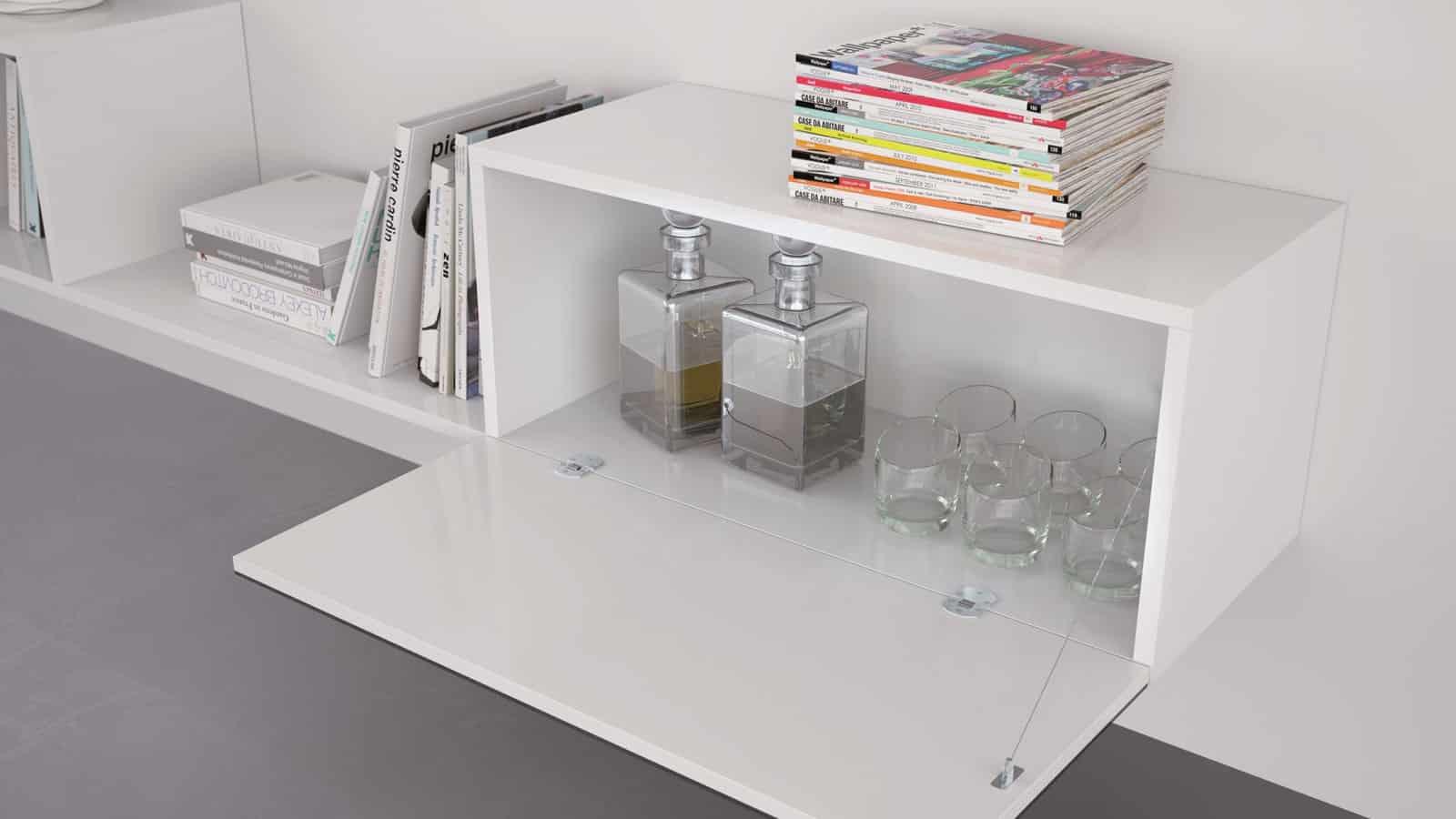 meuble suspendu salon optimal annecy