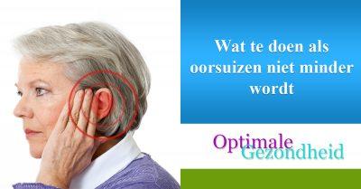Tinnitus Oorsuizen en wat je er tegen kunt doen ...