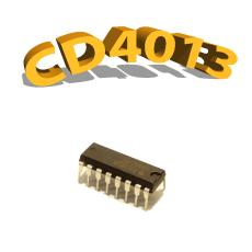 CD4013BE - Double Bascule, 3 V à 15 V, DIP-14 , CD4013