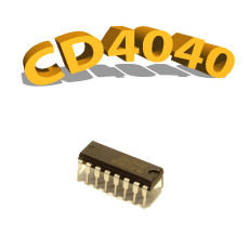 CD4040BE - Bascules NAND, 3 V à 15 V, DIP-16, CD4040, 4040