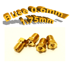 Buse E3D 0.6mm 1.75mm