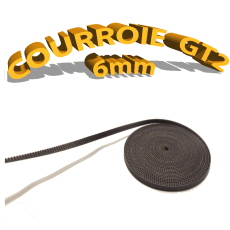 Courroie GT2 - épaisseur 6mm