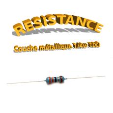 Résistance 10 ohm métallique