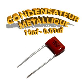 Condensateur à film 10nF 0.01uf 630V