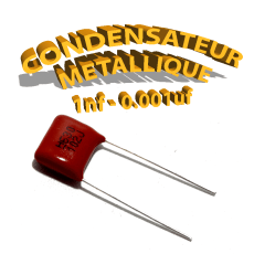 condensateur à film 1nF 0.001uf 630V