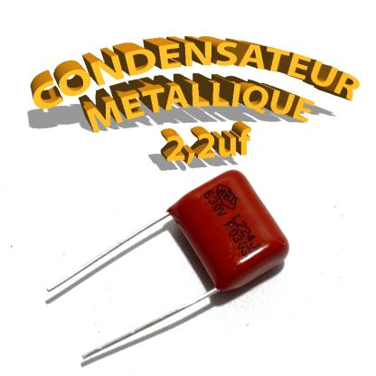 Condensateur à film 2,2uF 630V