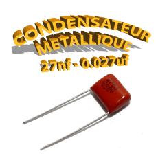 Condensateur à film 27nF 0.027uf 630V