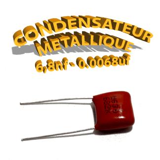 Condensateur à film 6,8nF 0.0068uf 630V