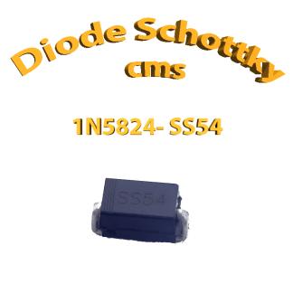 1N5824 -Diode SS54 SK54 5A 40 V DO-214