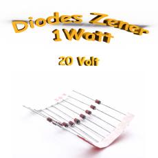 Diode Zener 20V - 1W - 1N4747A