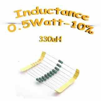 inductance 330uH - Inductor 330uH 0,5w 10%