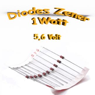 Diode zener 5V6 - 1W - 1N4734A