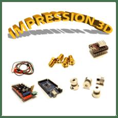 Pièces détachées pour Imprimante 3D & Accessoires