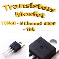 10N60 - AOT10N60 -Mosfet N - 600v - 10A - To220