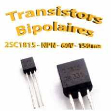 2SC1815 - Transistors NPN 60v 150ma - C1815