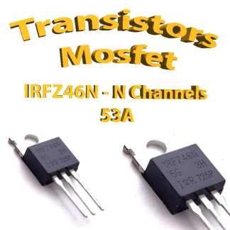 IRFZ46N -Mosfet N - 55v - 53A - To220 - 107W