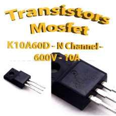 K10A60D -Mosfet N - 600v - 10A - To220 - 45W