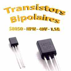 S8050A - Transistors Bipolaire - NPN - TO92 - 800mA
