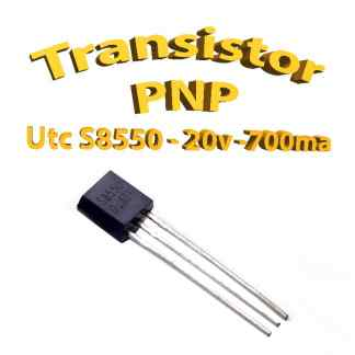 S8550A - Transistors Bipolaire - PNP - TO92 - 500mA